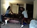 Hilarious Getti…: White girl gets caught fu…